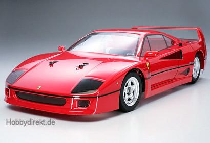 Tamiya Ferrari F40 1 10 Tamiya 58356 Kategorie Rc Hobbydirekt Modellbau E K
