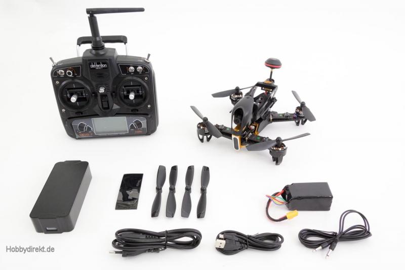 xciterc fpv racing quadrocopter f210 rtf fpv drohne mit. Black Bedroom Furniture Sets. Home Design Ideas
