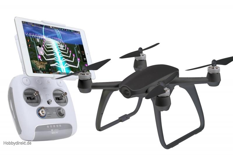 walkera aibao fpv 4k quadrocopter rtf schwarz fpv drohne. Black Bedroom Furniture Sets. Home Design Ideas