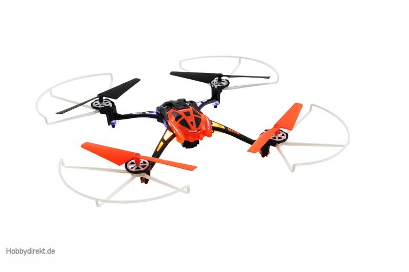 rocket 250 3d 4 kanal rtf quadrocopter orange mit kamera. Black Bedroom Furniture Sets. Home Design Ideas