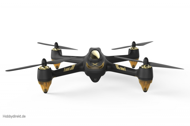 Hubsan X4 Air Pro FPV Brushless Quadrocopter - RTF-Drohne mit App-Steuerung, 1080p-Kamera, GPS, Follow-Me, Waypoints, Akku und Ladegerät Hubsan 150305