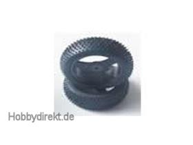 Offroad Radsatz kpl. vorne (2) MegaE Buggy Krick 654049