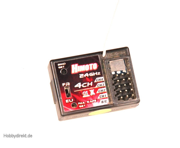 Himoto Empfänger 2.4 GHz  4 Kanal FHSS Krick 79088