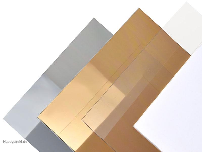 kunststoffplatte polystyrol wei 0 5x328x475 mm krick rb651 02 8716182022014 hobbydirekt. Black Bedroom Furniture Sets. Home Design Ideas