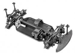 HPI HPI RS4 Sport 3 Challenge Chassis (montiert) HPI 118000