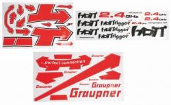 Dekorbogen SDz WP HoTTrigger1400S Graupner 13400.SD.141