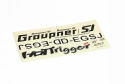 Dekorbogenzu WP HoTTrigger1500 Graupner 13401.14