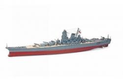 WP YAMATO M 1/150 Schlachtschiff Premiu. Graupner 21018 Oberdeck wellig