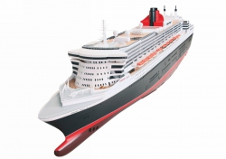 Passagierschiff Queen Mary II. Wahl Graupner 2217BW
