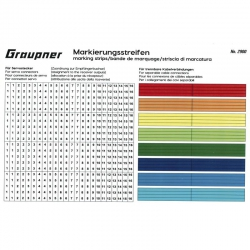 Markierungsstreifen Graupner 2900