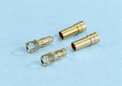 G3,5-Stecker vergoldet (2 Stück) Graupner 2970