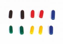 Zierkappen bunt gemischt kurz (10 Stück) Graupner 33001.53