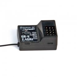 Empfänger GR-4 HoTT2.4 GHz 2 Kanal Graupner 33502