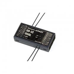 Empfänger GR-32 HoTT2.4 GHz Dual 16 K. Graupner 33516