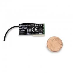 Empfänger GR-12SC+ HoTT 2.4 GHz 6 Kanal Graupner 33566