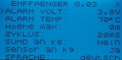 Empfänger GR-18 + 3xG + 3A Graupner HoTT Graupner 33579