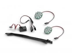 LED Licht mit Batterieanzeige (Weiss) HPI 336