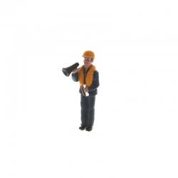Matrose Megaphone haltend M1:20 Figur Graupner 375.13