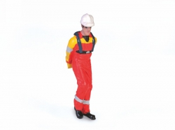 Mechaniker ziehend M1:50 Figur Graupner 375.54