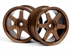 TE37 Felge 26mm (Bronze/0mm Offset) HPI 3838