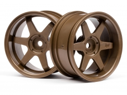 TE37 Felge 26mm (Bronze/6mm Offset) HPI 3848