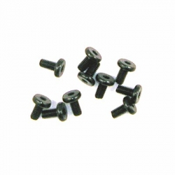 Innensechsk. Flachkopfschrauben M4x8(10) Graupner H39408