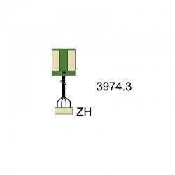 Kingpad VerteilerZH Stecker Graupner 3974.3
