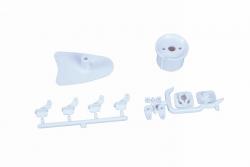 ABS-Kleinteile zu Elektro-ROOKIE S/QR Graupner 4218.5