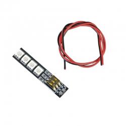 RGB LED PCB 4S 16V mit DIP-Schalter Graupner 48195.RGB