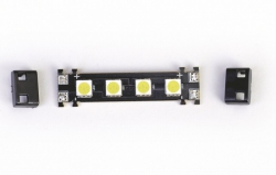 LED PCB 9-17V weiß Graupner 48195.W