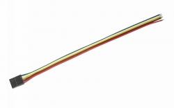 5P MOLEX TX Steckerzu TIN Kabel Graupner 48326.3