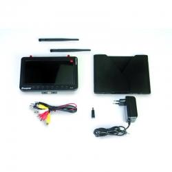 FPV Monitor 7Zoll HD 5,8 GHz Diversity Graupner 48350
