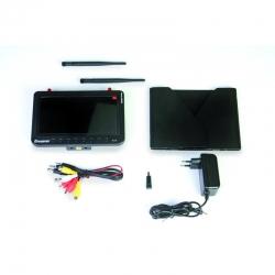 FPV Monitor 7Zoll DVR 5,8 GHz Diversity Graupner 48351