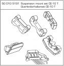 Querlenkerhalterset CE-10T Carson 105191
