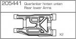 Querlenker,hi.u.,CY-Chassis Carson 205441