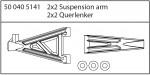 Querlenker verstärkt o/u CE-10 Carson 405141 500405141