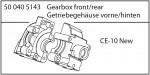 Getriebegehäuse verstärkt v/h CE-10 Carson 405143 500405143