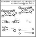 X-18 Plastikteile, Lenkung/Aufhängung Carson 405181 500405181