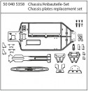 X10EB Chassis- + Anbauteile-Set Carson 405358 500405358
