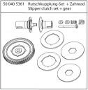 X10EB Rutschkupplung-Set + Zahnrad Carson 405361 500405361