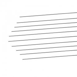 Stahldraht 0,5 mm/1000mm   Mindestabnahme 10 Stück Graupner 519.0,5