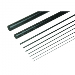 Kohlefaser-Rundstab3,5mm/1000mm lang Graupner 5220.350