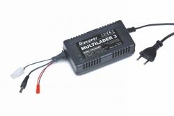 Multilader 3 JST/TX/RXBEC NiMH Ladegerät Graupner 6407
