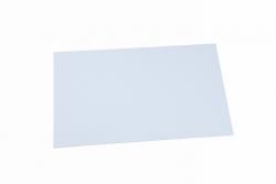 ABS-Platte, weiß1,0 mm Graupner 736.1