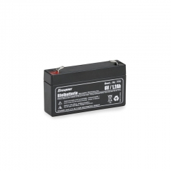 LEAD BATTERIES 6 V,1,3 AH Graupner 770