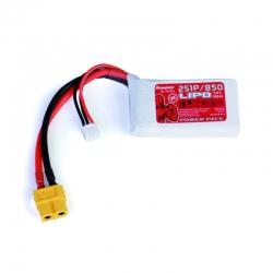 Power Pack LiPo 2/850 7,4 V 5 Graupner 78108.2