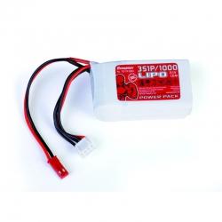 Power Pack LiPo 3/1000 11,1 V Graupner 78110.3BEC