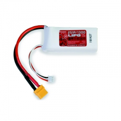Power Pack LiPo 2/1300 7.4 V Graupner 78113.2
