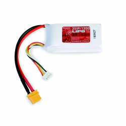 Power Pack LiPo 3/1300 11,1 V 70C XT60 Graupner 78113.3