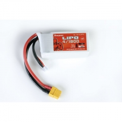 Power Pack Lipo 4/1800 14,8V 70C XT-60 Graupner 78118.4FPV